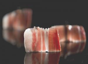 detalle corte de jamon
